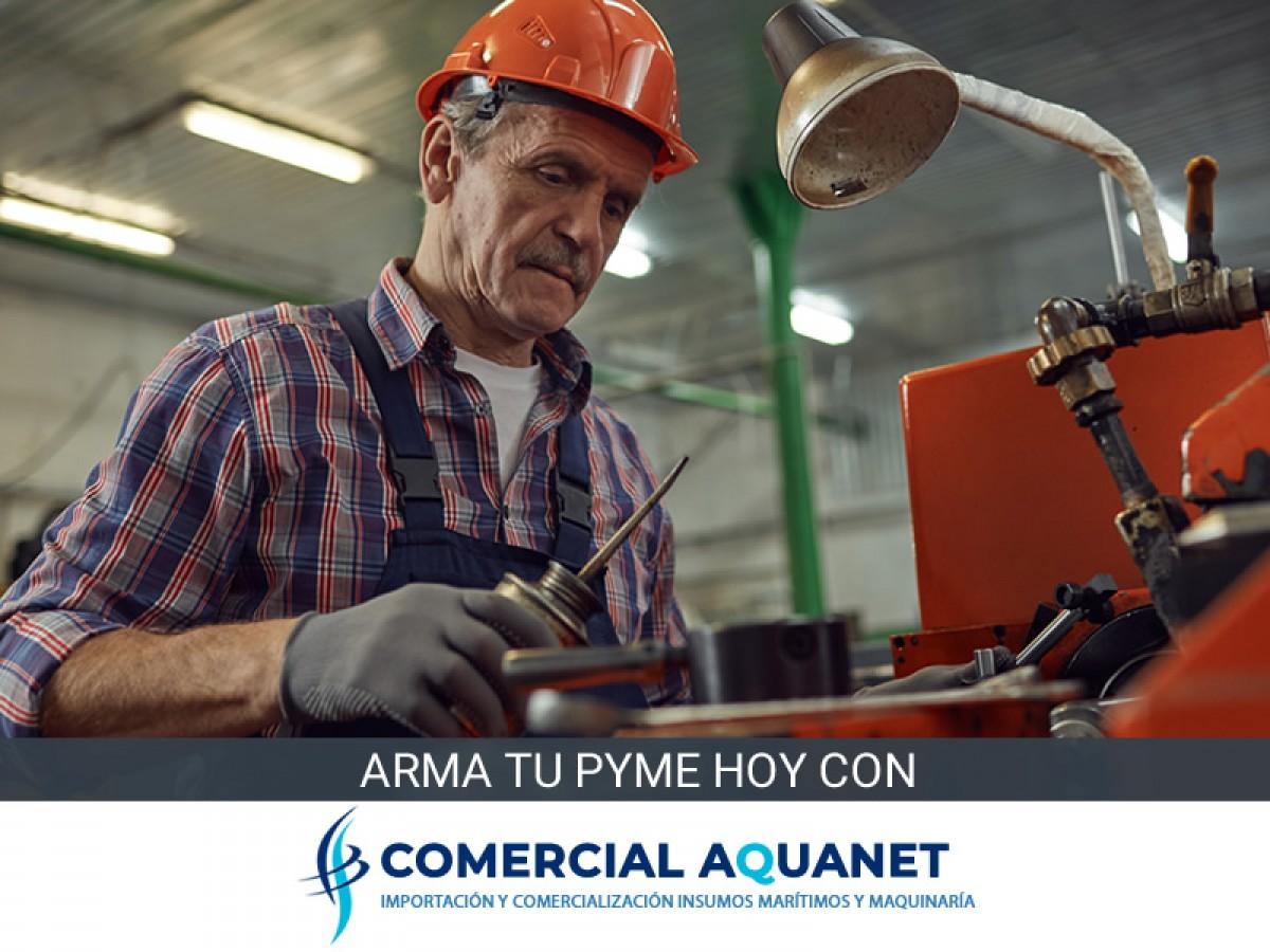 COMERCIAL AQUANET | Venta de Productos Marítimos y Maquinaria Industrial