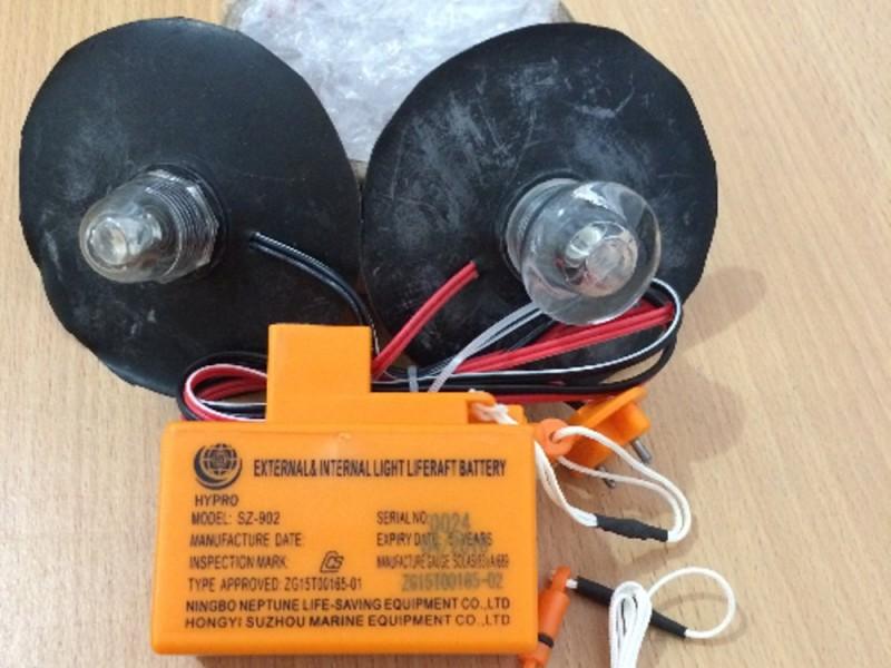 Bateria balsas salvavidas ISO 9650 SZ 902